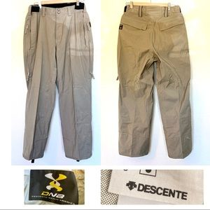 DESCENTE DNA pants 200X snowboarding skiing beige
